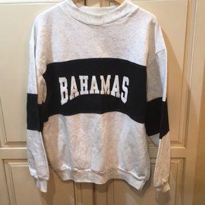 Other - Vintage 80s 90s bahamas crewneck sweatshirt xl